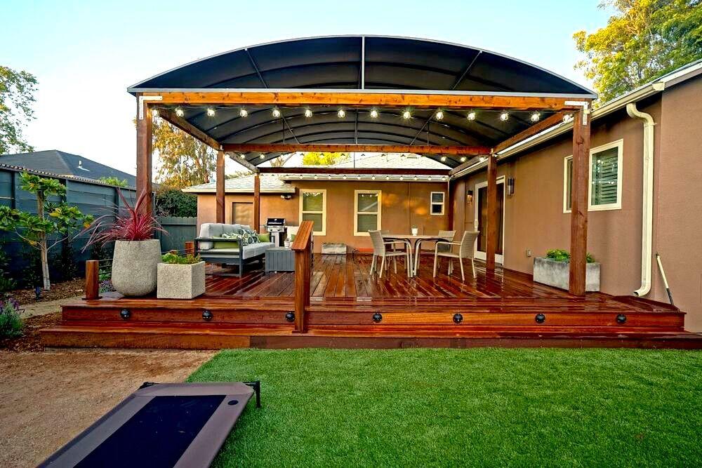 landscaper custom patio